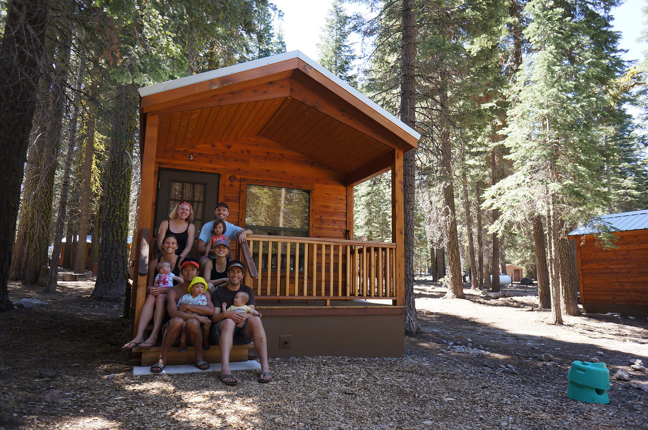 Last Weekend We Cruised Up To The Manzanita Lake Cabins In Lassen NP. The  Chases, Metreses (Metres Ites?) And The Kuwabaras Reserved A Cabin Per  Family For ...